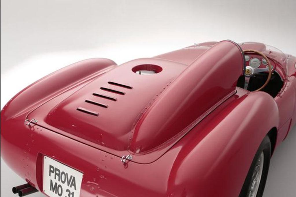 Ferrari 375 plus achterzijde