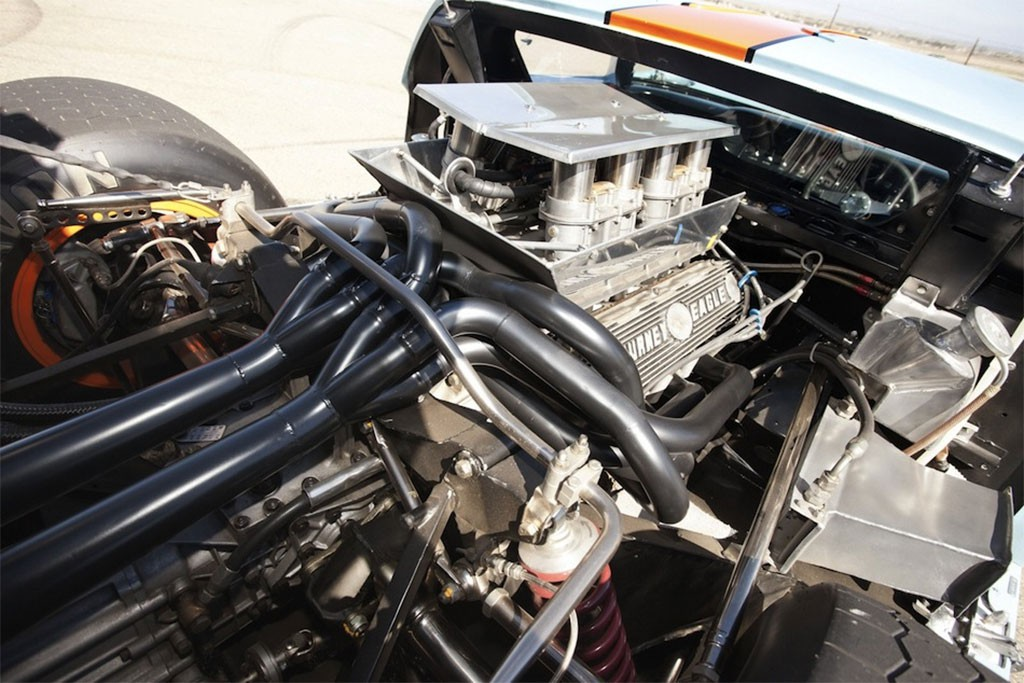 Ford gt40 motor