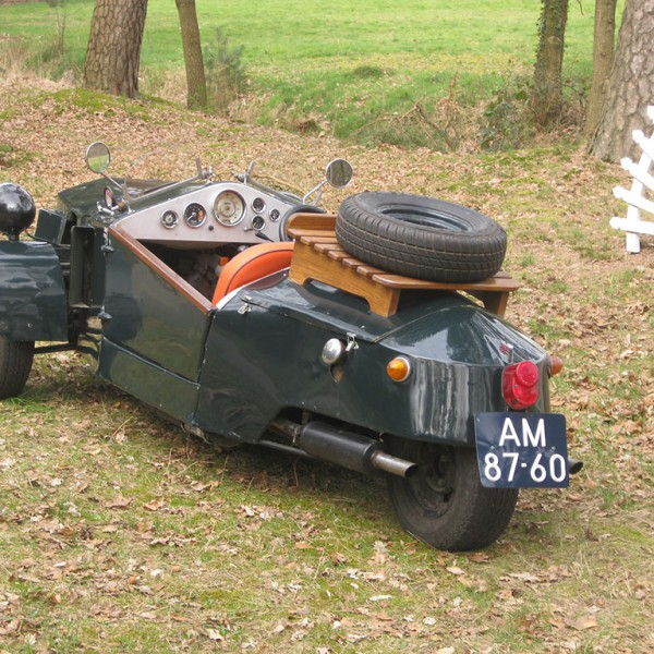Heinkel open tourer concept 1957