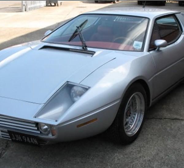 Maserati merak saurer