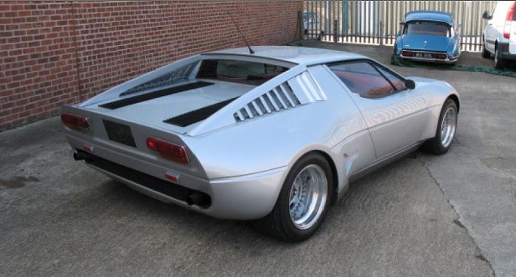 Maserati Merak Saurer achterzijde