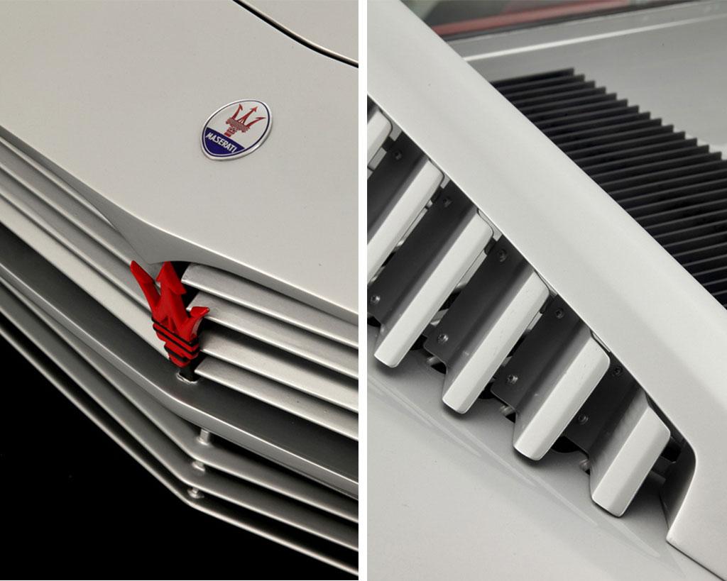 Maserati merak saurer details
