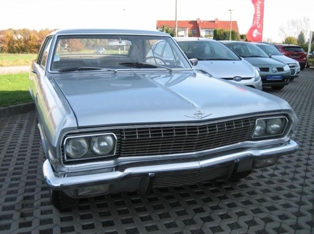 Opel diplomat Karmann