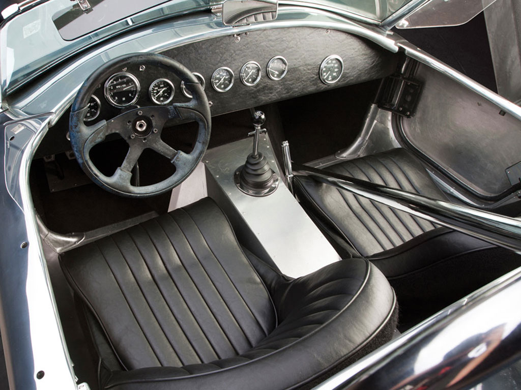 Shelby Cobra interieur