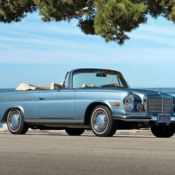 mercedes benz 280SE 1971