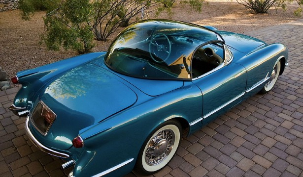 corvette bubble top achterzijde