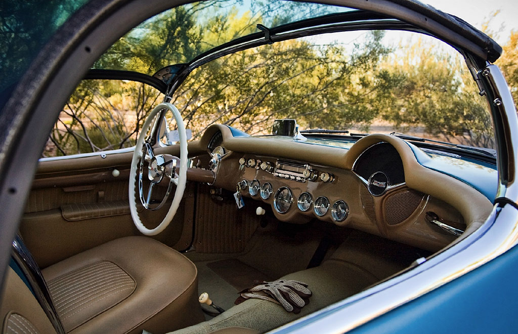corvette bubble top interieur