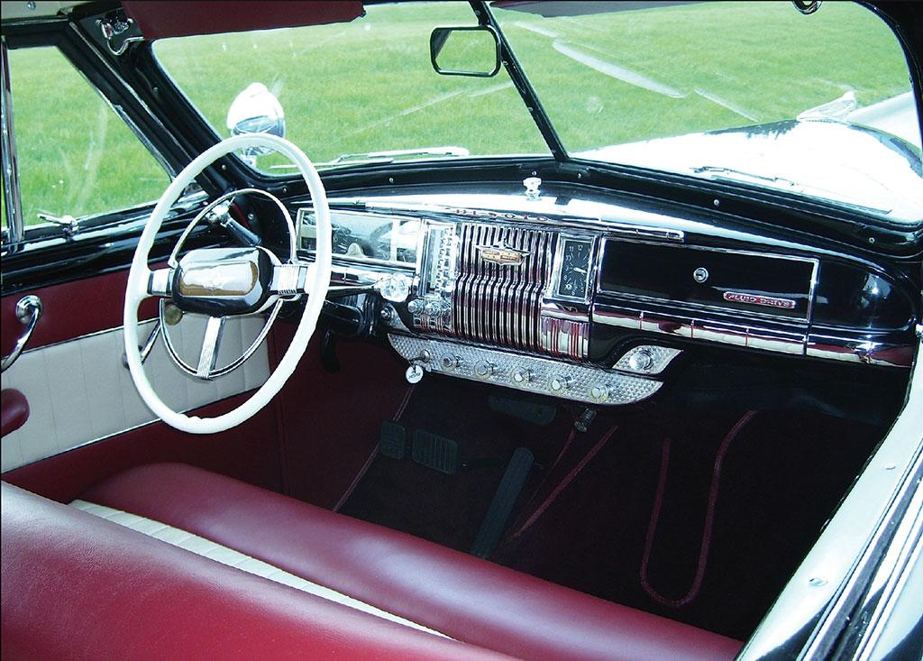 desoto custom 1947 interieur