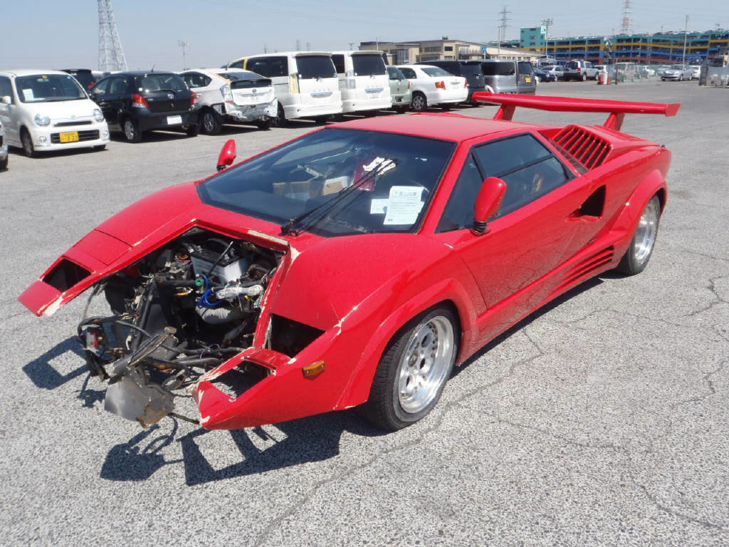 lamborghini crashed