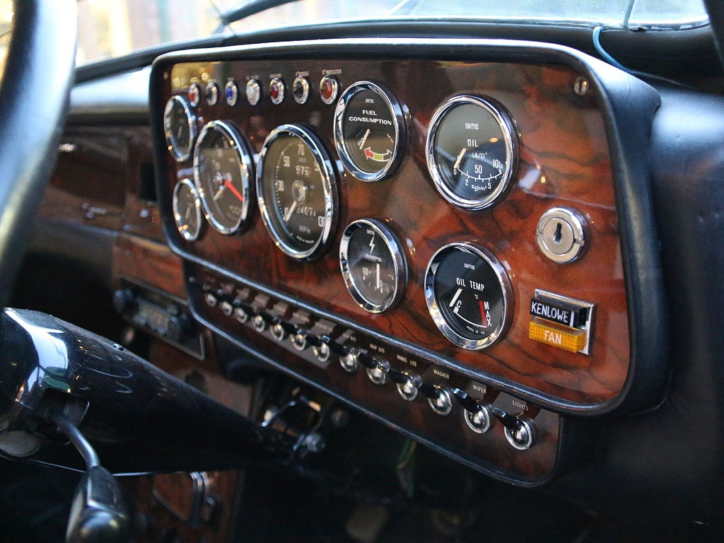 radford mini dashboard