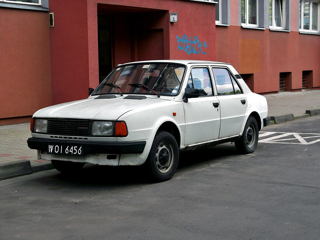 skoda 120 1984