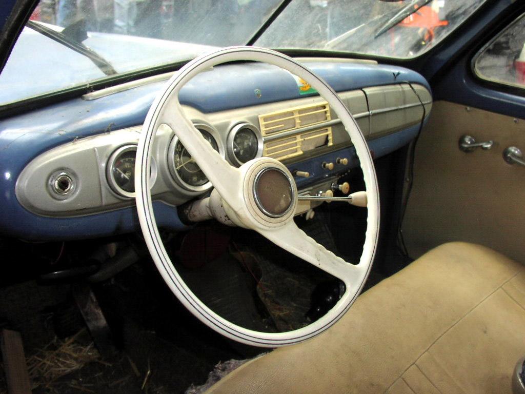 skoda 1201 interior