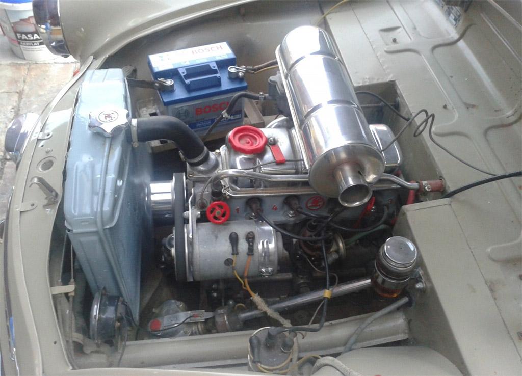 skoda 440 spartak motor