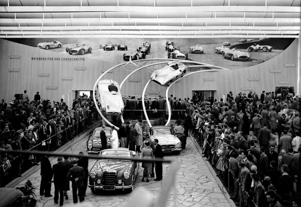stand mercedes autorai 1955