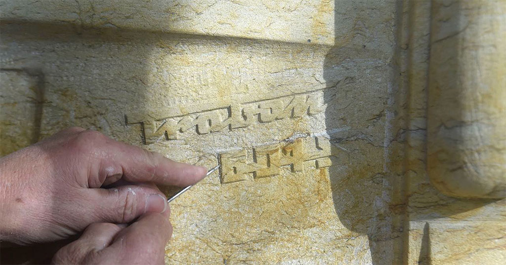 stenen trabant detail