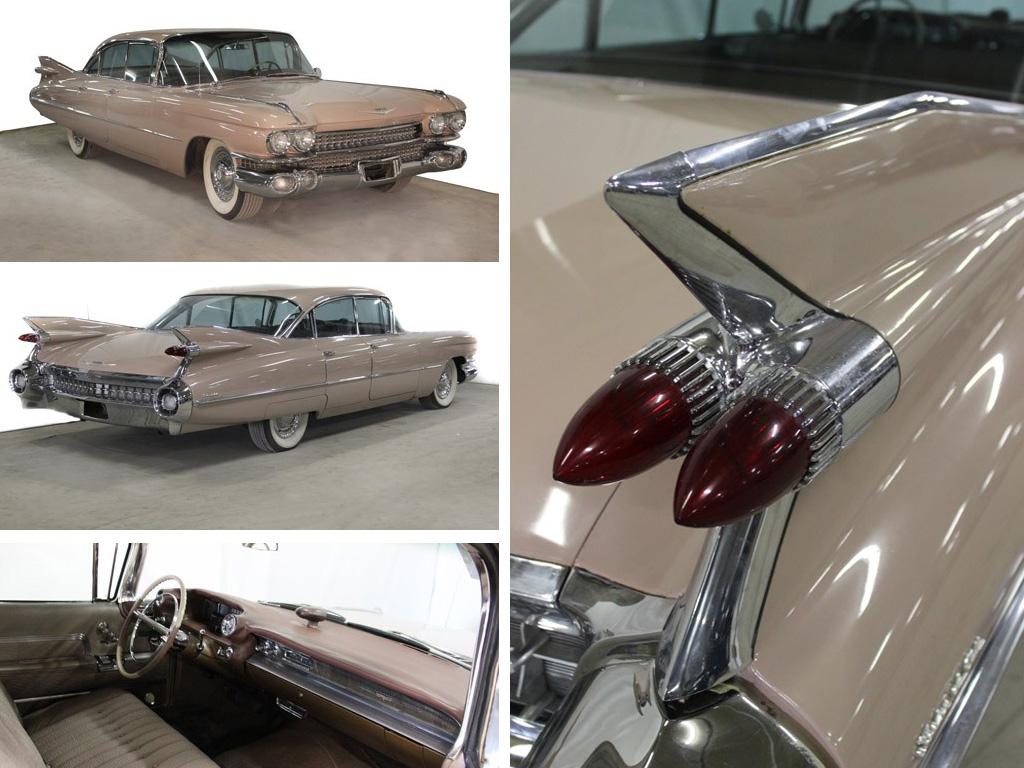 1959 Cadillac Sedan DeVille FlatTop