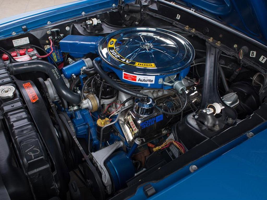 Ford Mustang Boss 302 Fastback 1969 motorblok