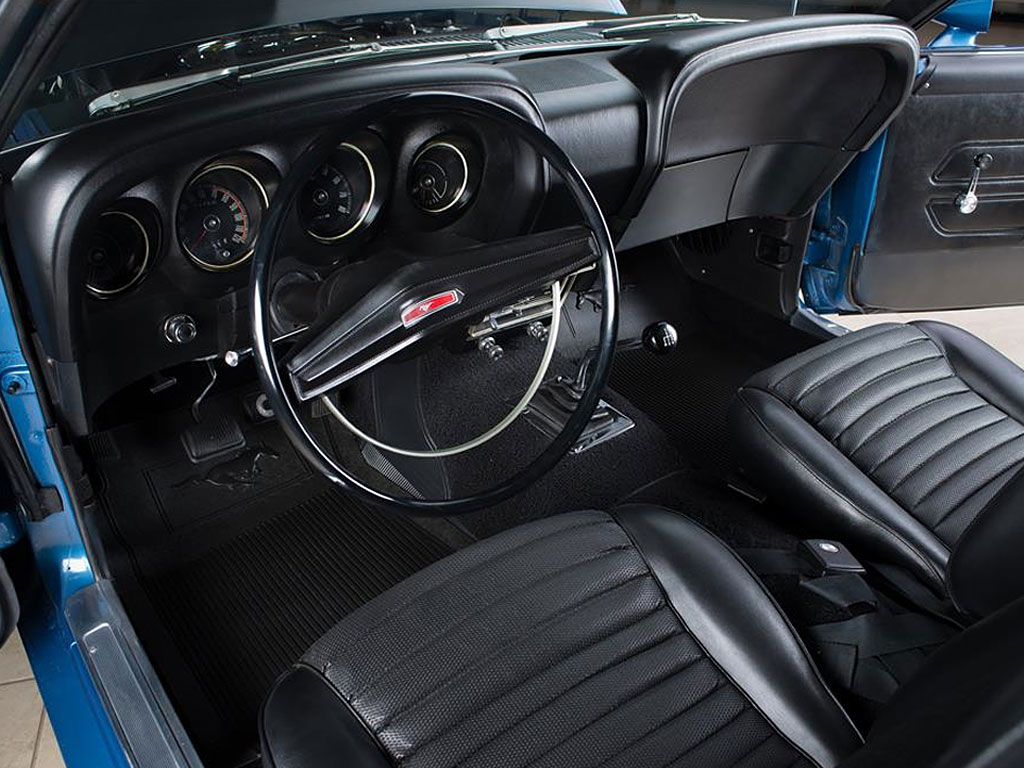 Ford Mustang Boss 302 Fastback 1969 interieur
