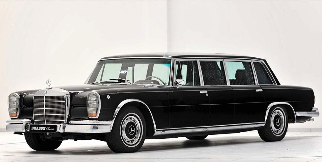 Mercedes-Benz 600 Pullman W100 voorzijde