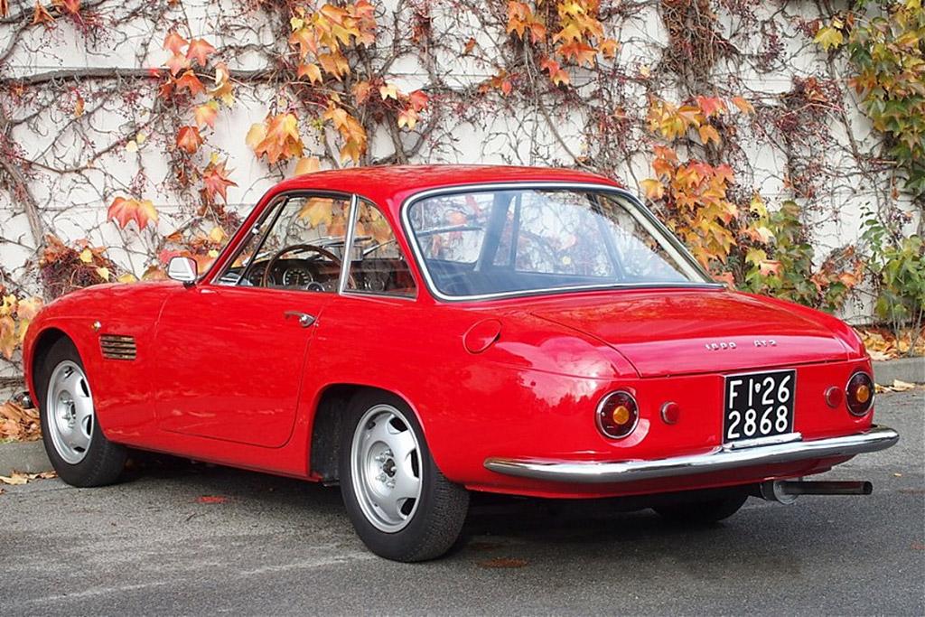 OSCA Maserati 1600 GT Fissore 1964 achter