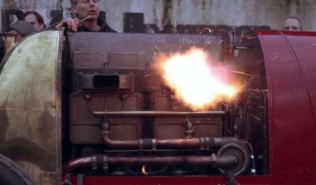 fiat S76 engine start