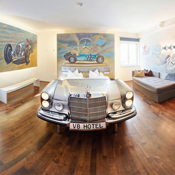 Mercedes-Benz bed
