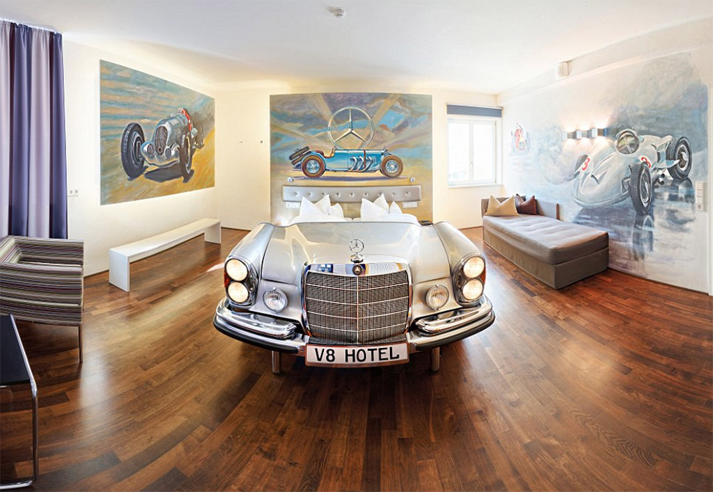 Mercedes-Benz bed