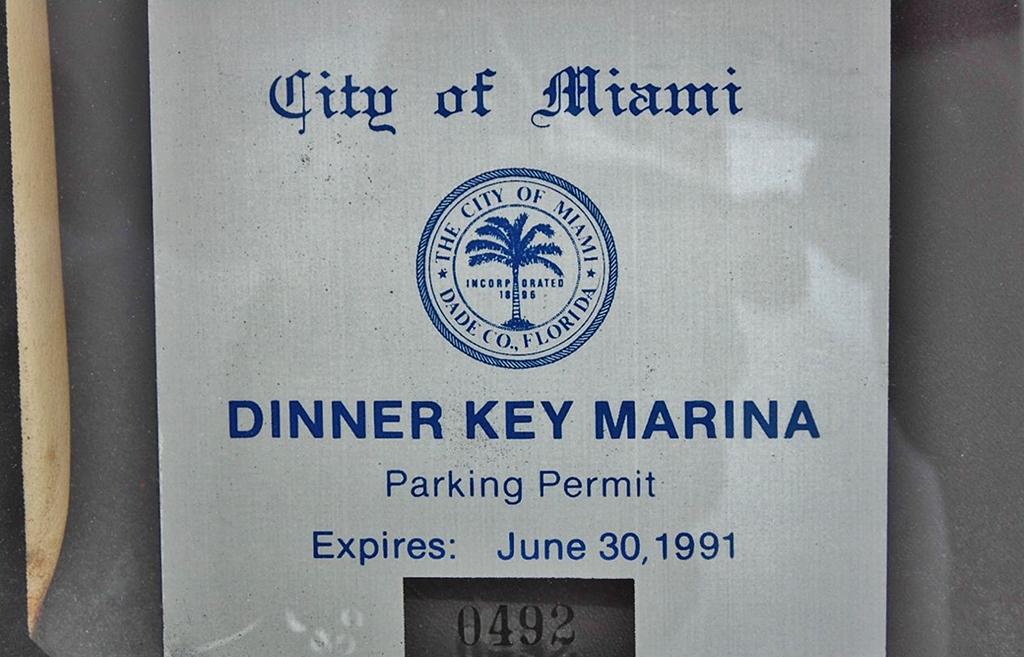 testarossa miami vice parkeervergunning