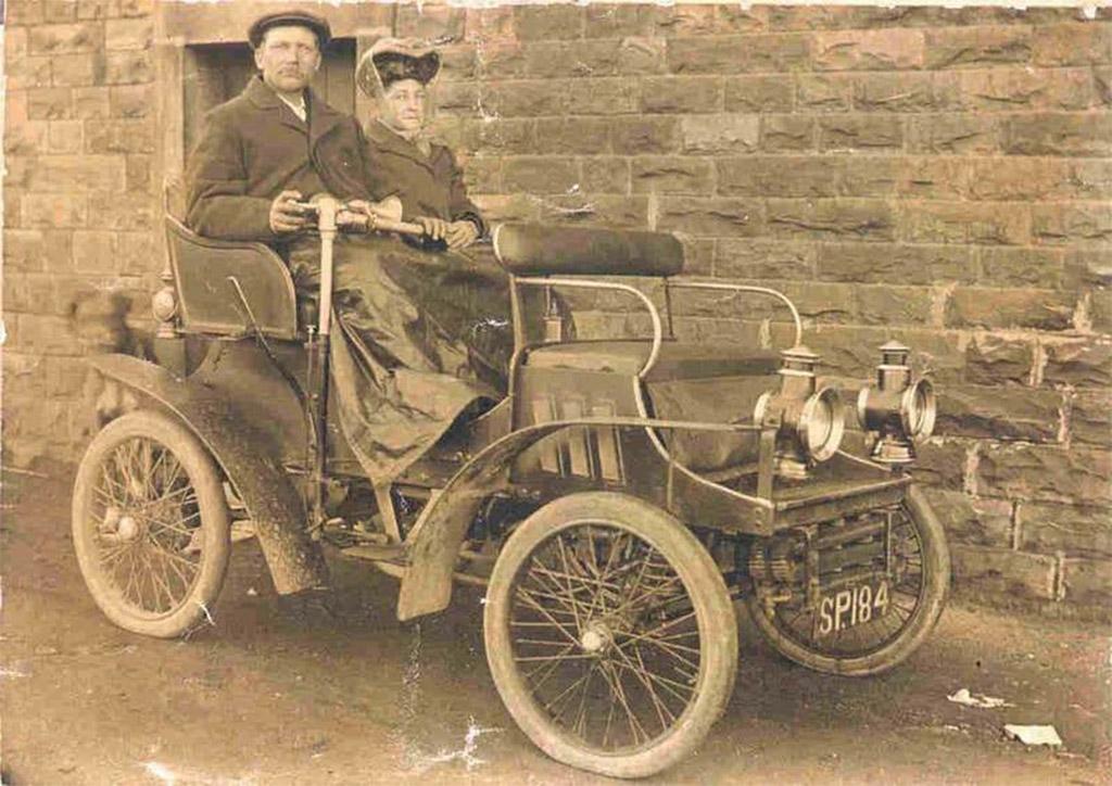 Vauxhall eencilinder 1903