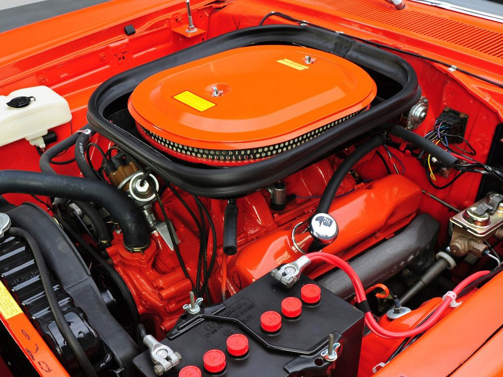 Dodge Coronet SuperBee motor 440 Six Pack Hardtop Coupe motor 1969