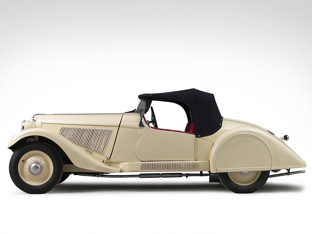 Adler Trumpf Junior Sport Roadster 1935