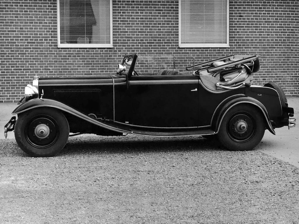 Adler 8 cabrio 1928