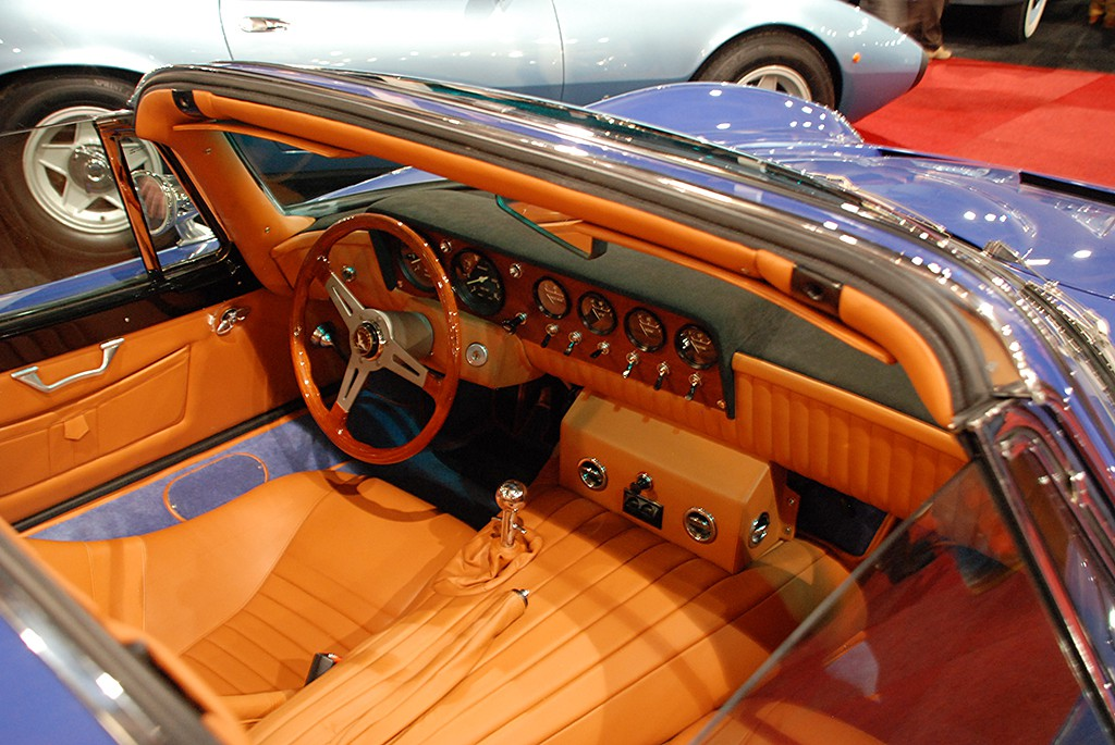 Bizzarrini GT 5300 strada targa interieur