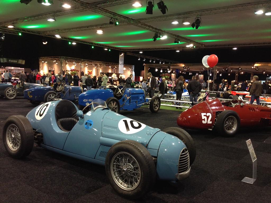 klassieke F1 auto's