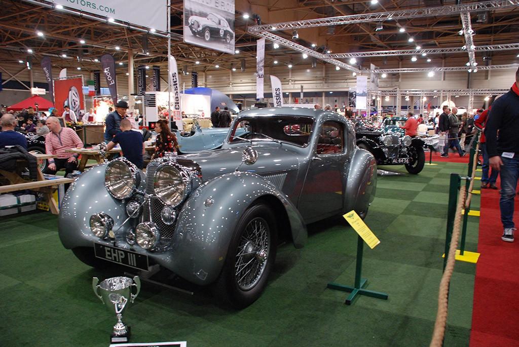 Jaguar SS100 coupe 1938