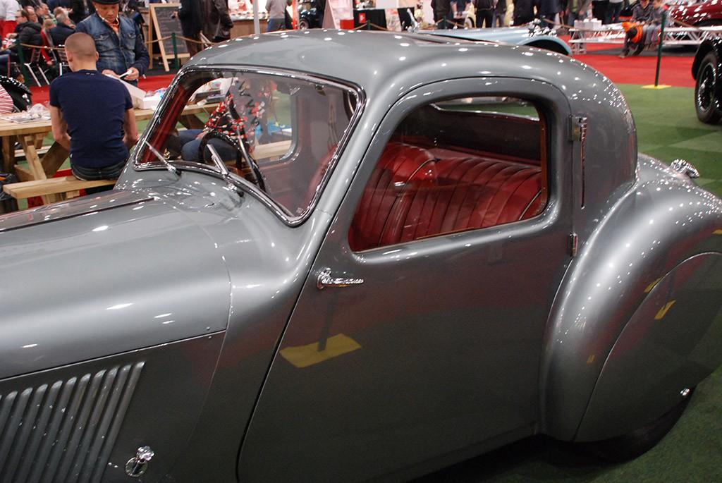 Jaguar SS100 coupe 1938 deur