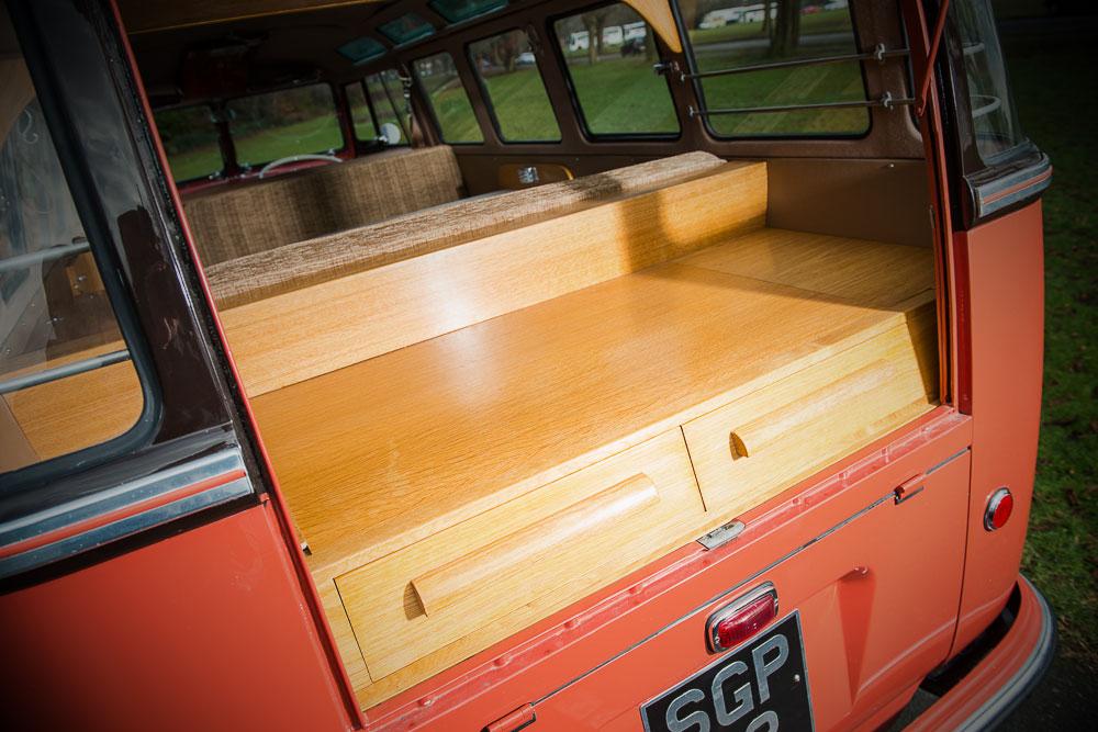 VW T1b 1955 houten laden