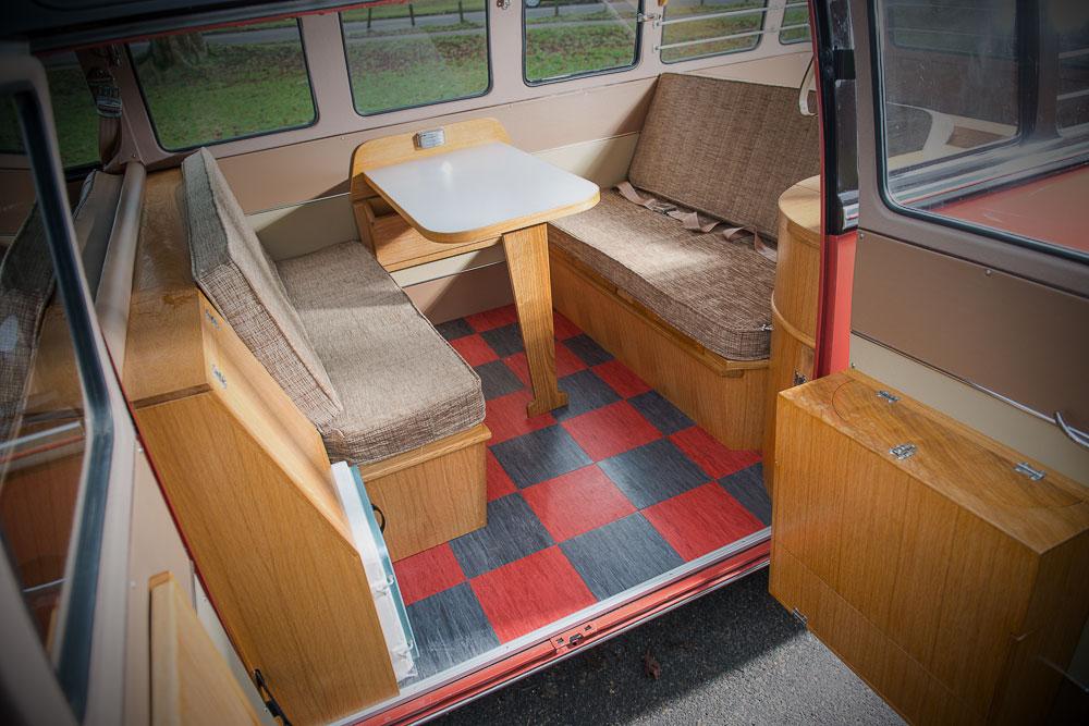VW T1b 1955 interieur