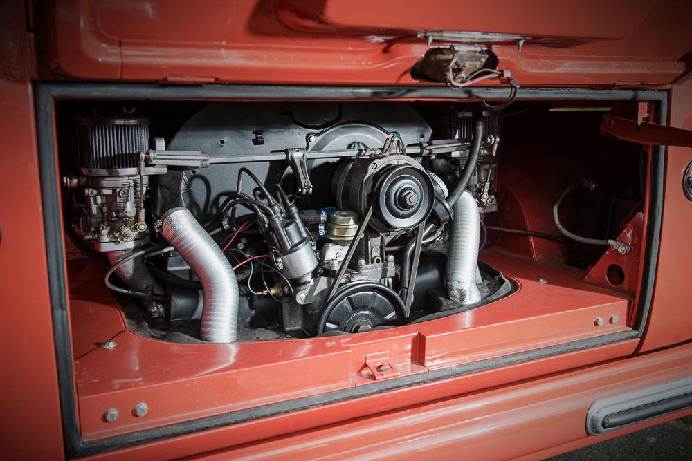 VW T1b 1955 motor