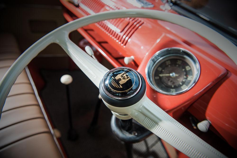 VW T1b 1955 stuurwiel