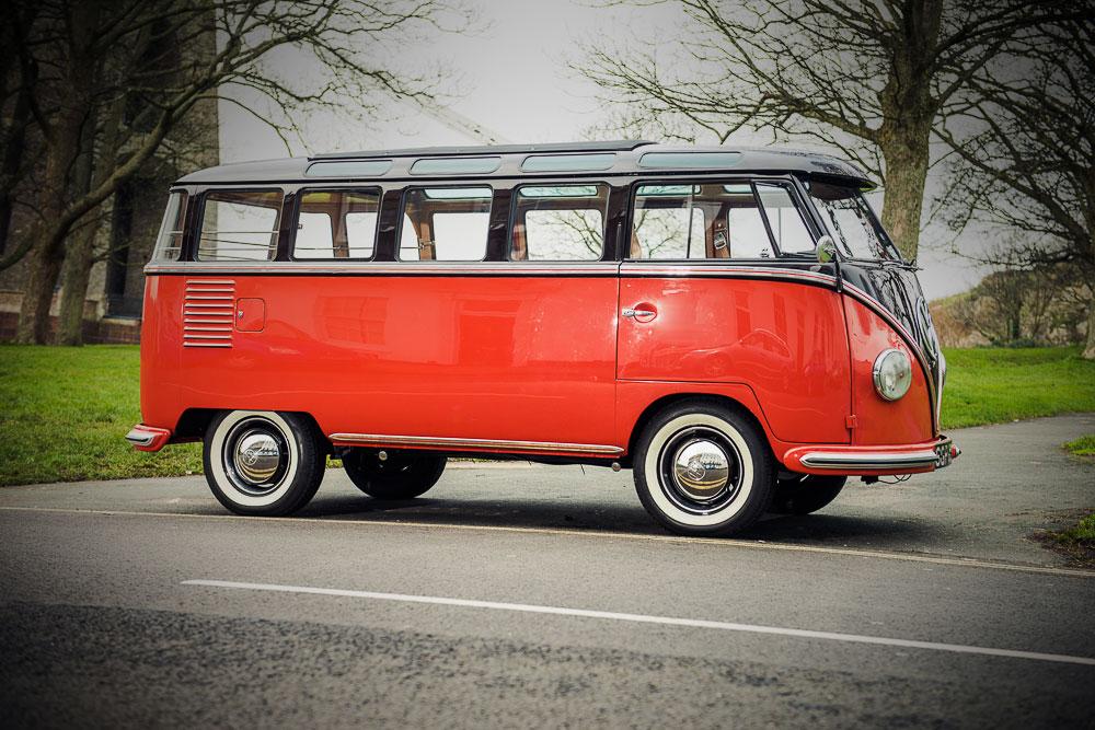 VW T1b 1955 zijkant