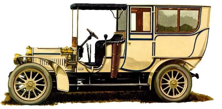 Adler 40/50 uit 1907