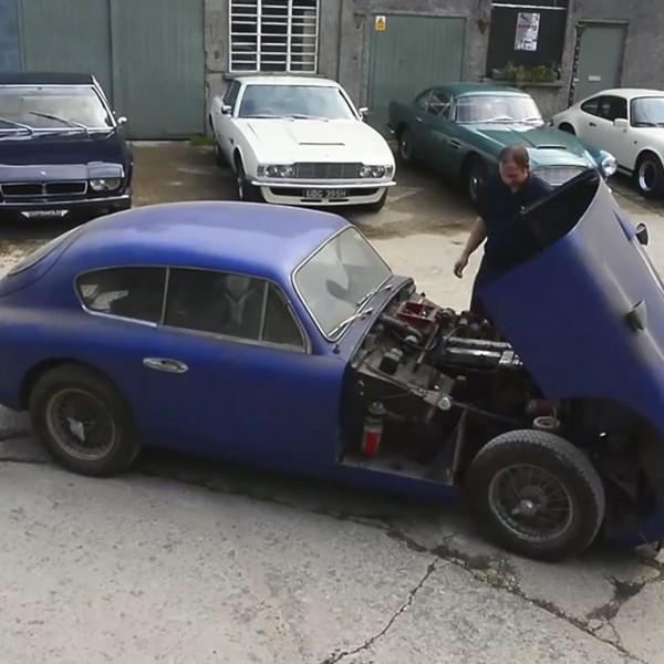 aston martin DB24 1955