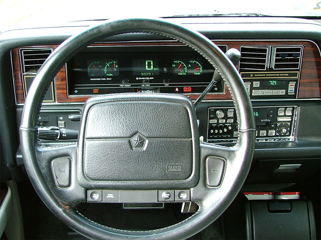 chrysler imperial 1990 dashboard