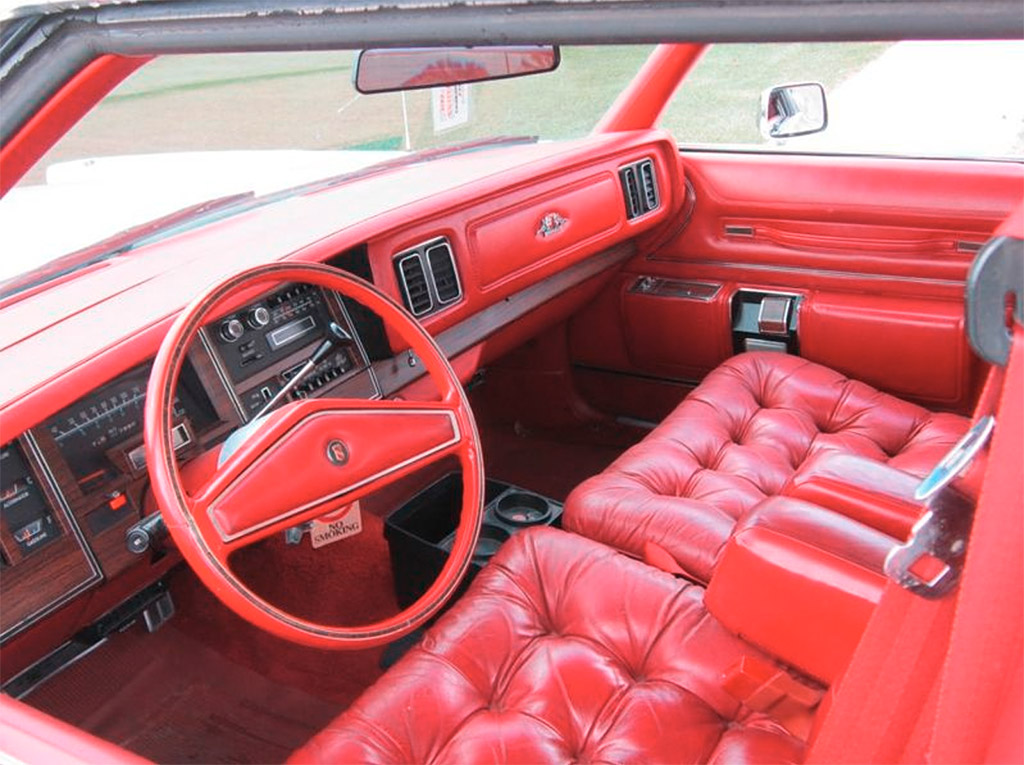 chrysler new yorker brougham 1978 interieur