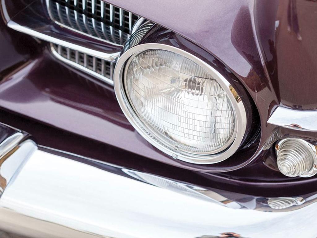 dual ghia 1958 detail