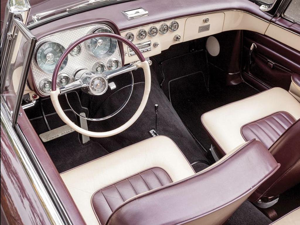 dual ghia 1958 interieur