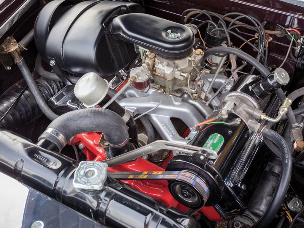 dual ghia 1958 motor