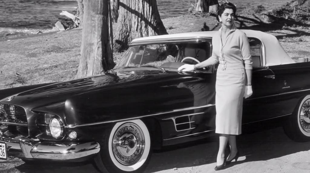 dual ghia 1958 oude foto