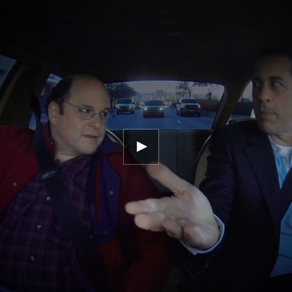 comedians in cars getting coffee george constanza